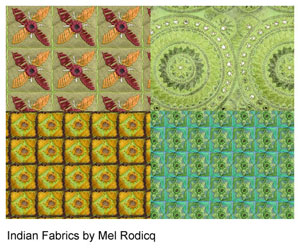 Indian fabric patterns
