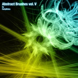 Abstract brush pack vol. 5