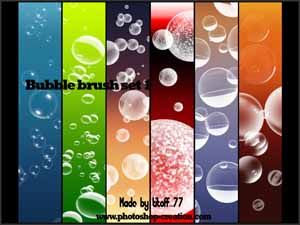 Bubble brush set 1